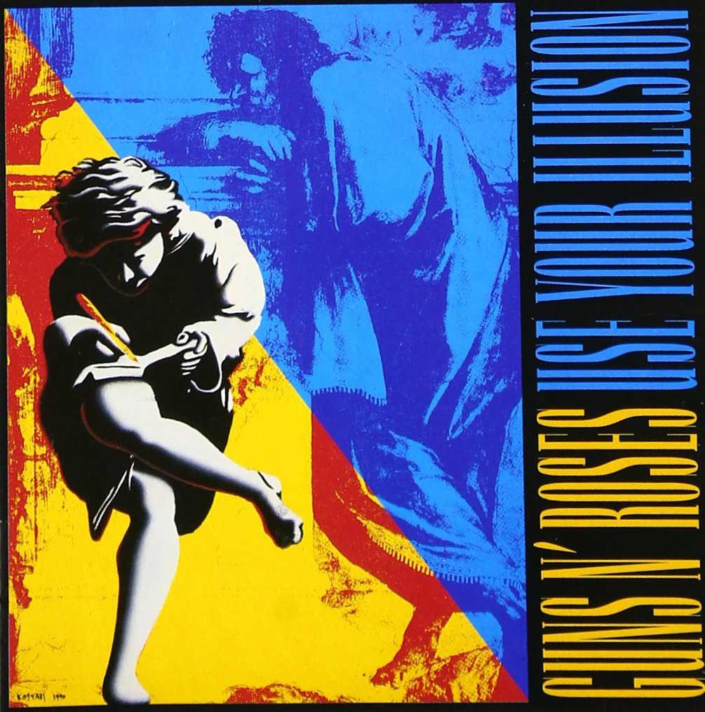 Guns N Roses Use Your Illusion album cover