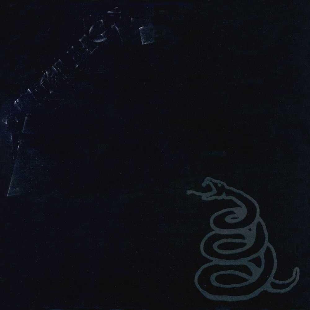 Metallica black album cover