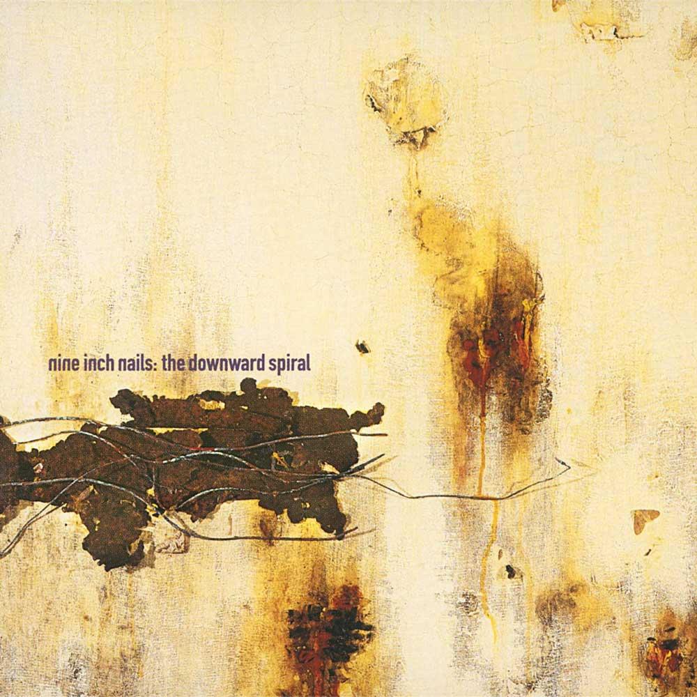 Nine Inch Nails Downward Spiral album cover