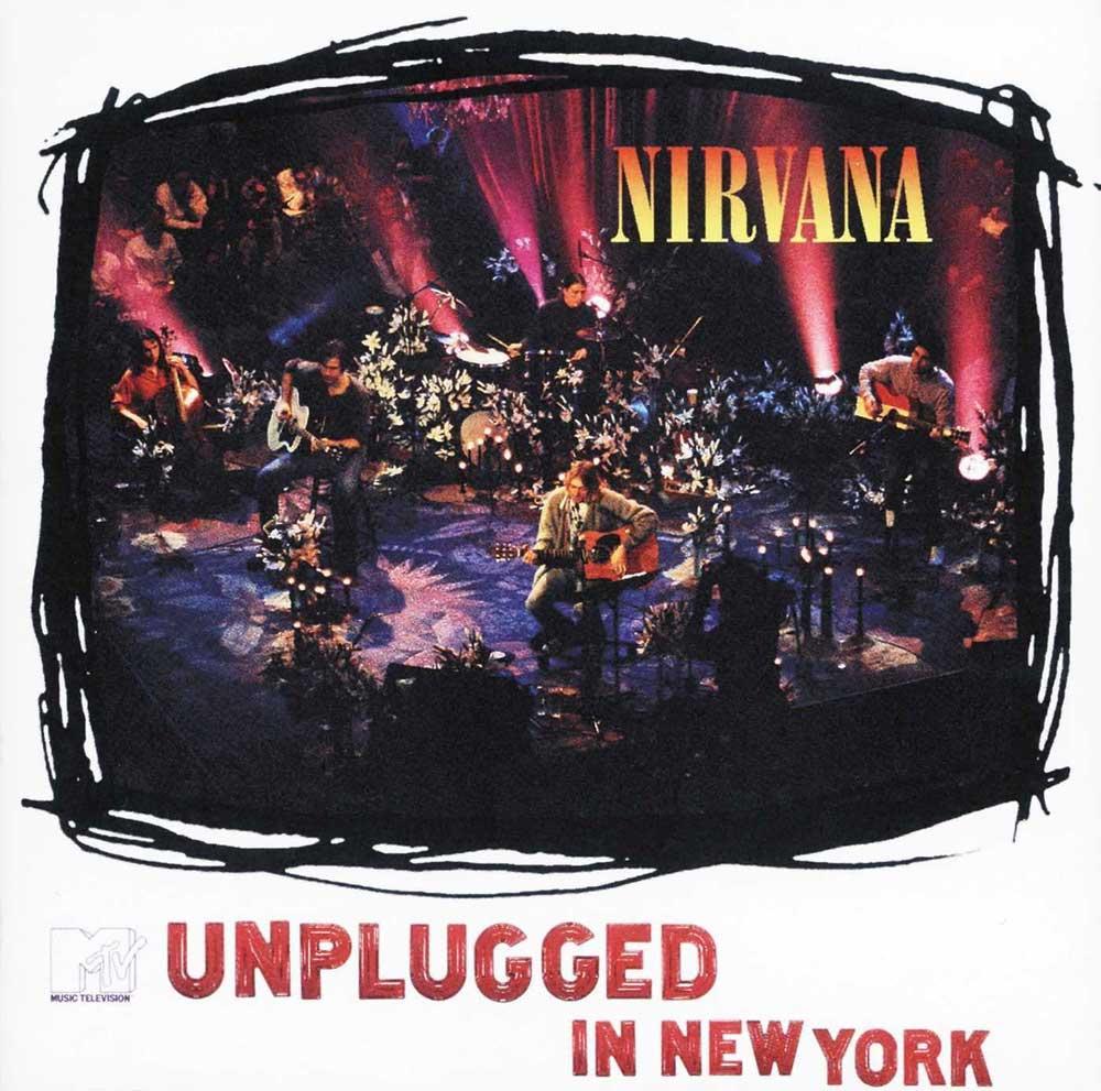 Nirvana MTV Unplugged album cover