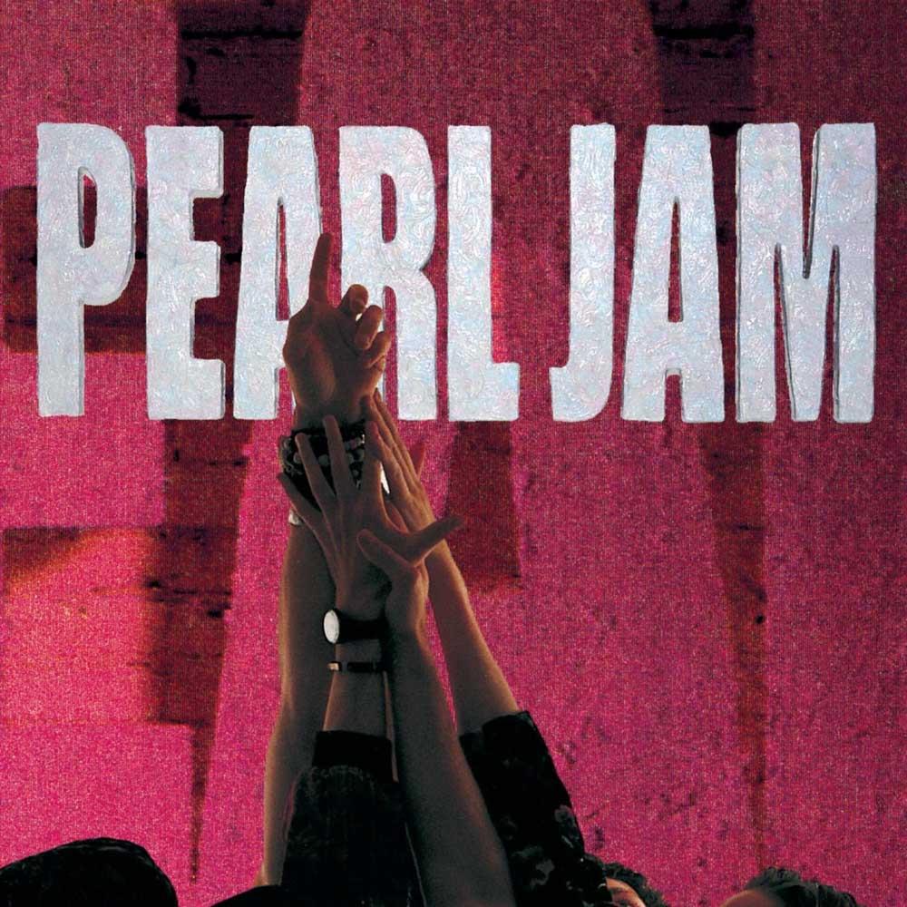 Pearl Jam Ten album cover