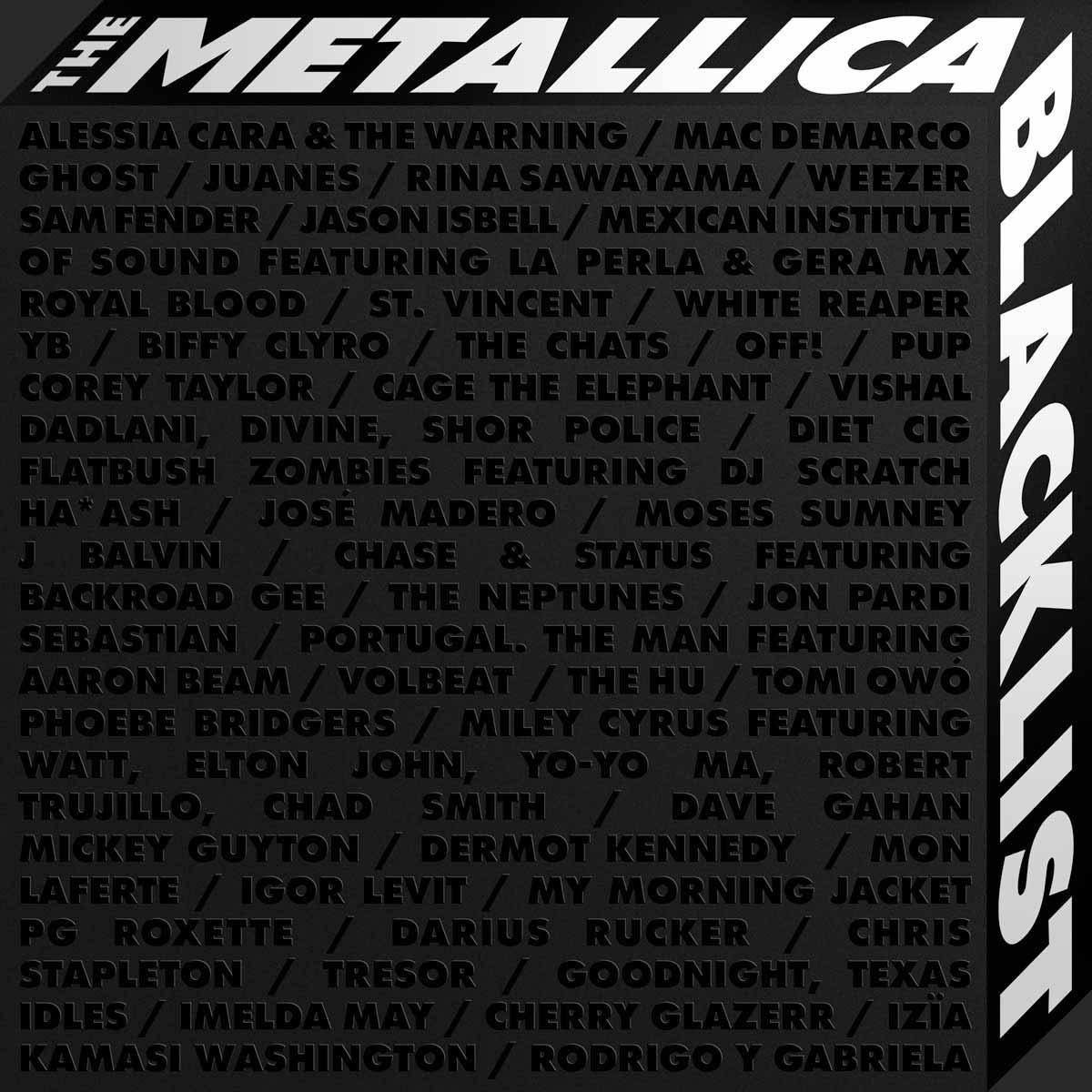 Metallica Blacklist album cover