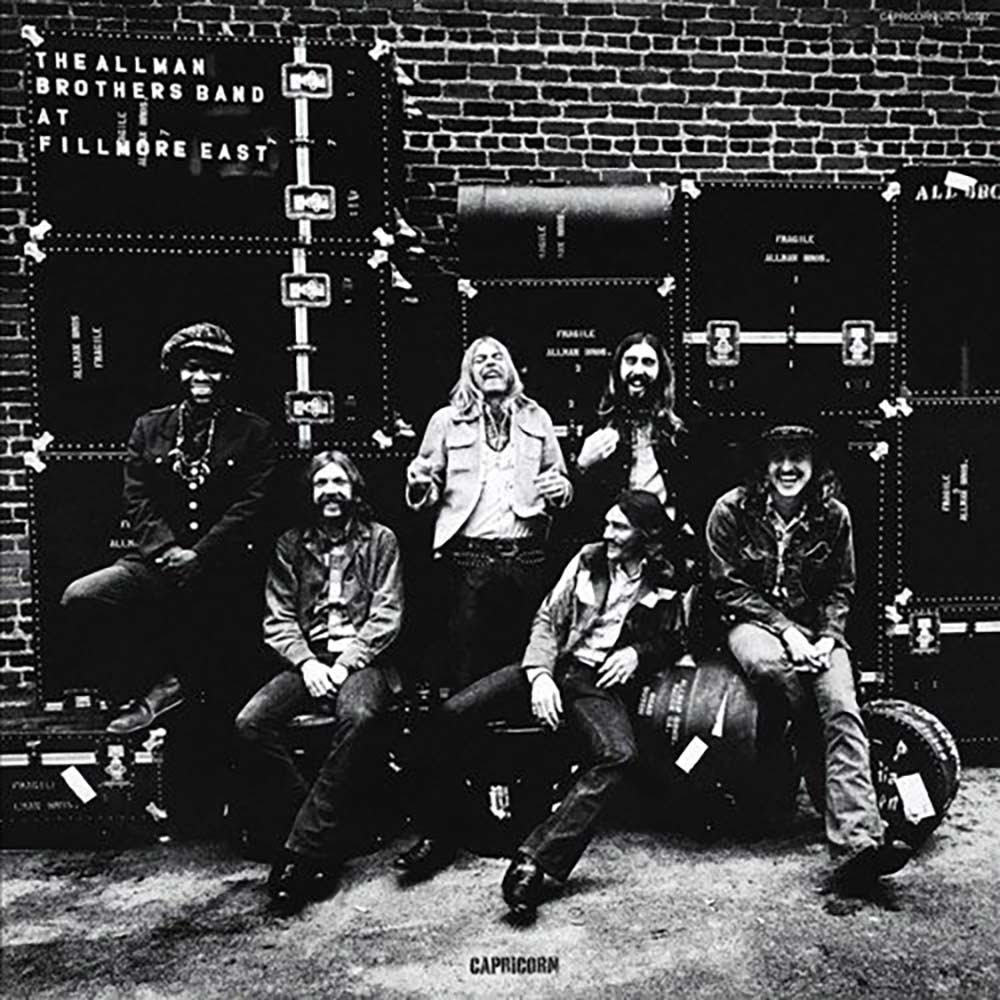 Allman Brothers Band at Fillmore East album cover