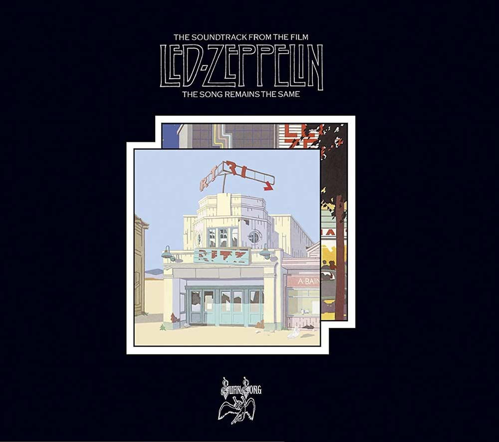 Led Zeppelin The Song Remains The Same album cover