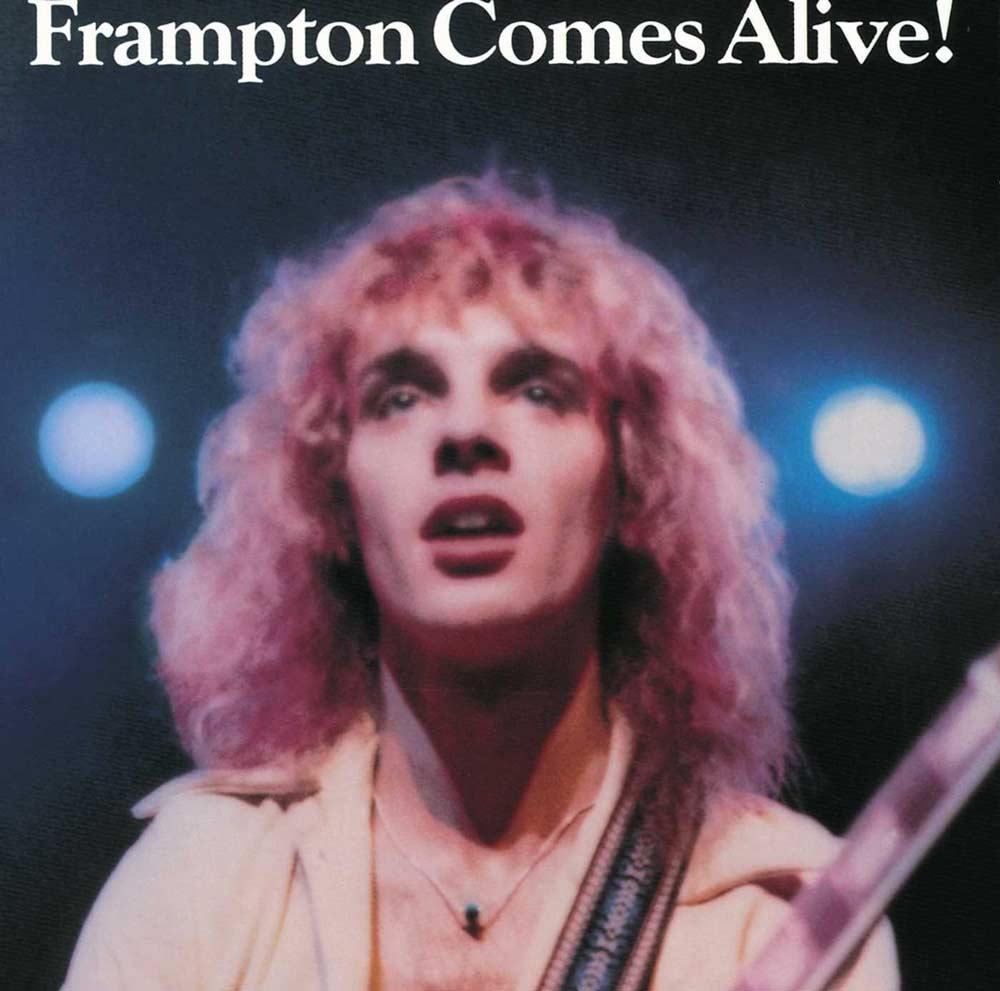 Frampton Comes Alive album cover