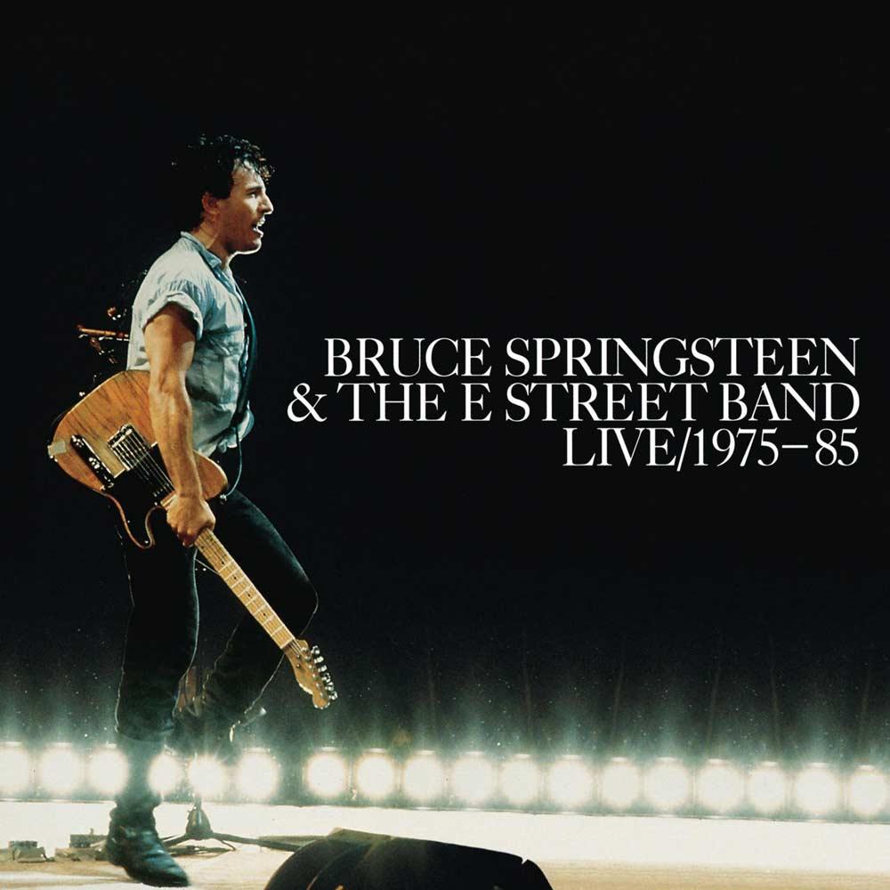 Springsteen Live 1975-85 album cover