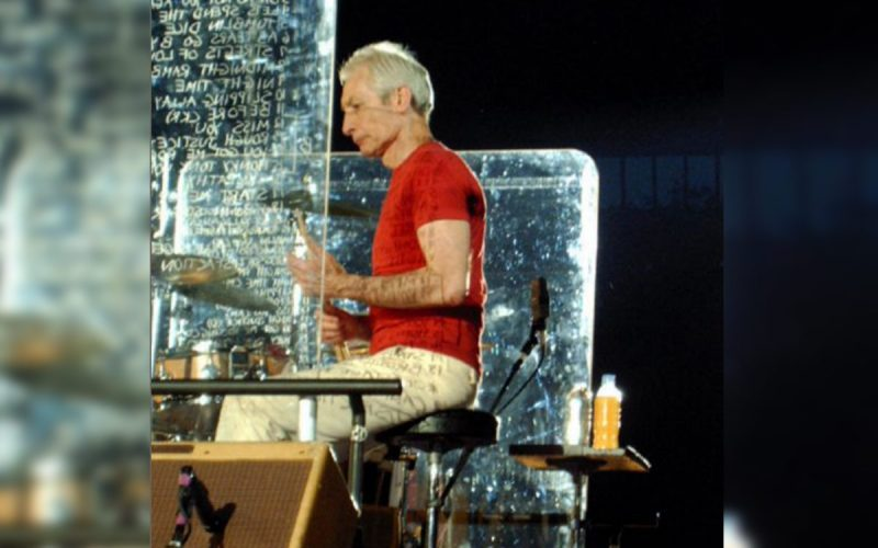 Charlie Watts in 2006