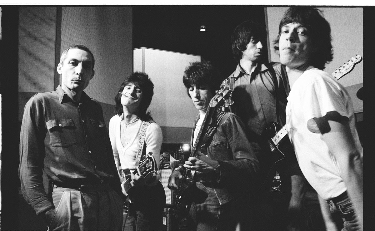 Rolling Stones Credit Helmut Newton