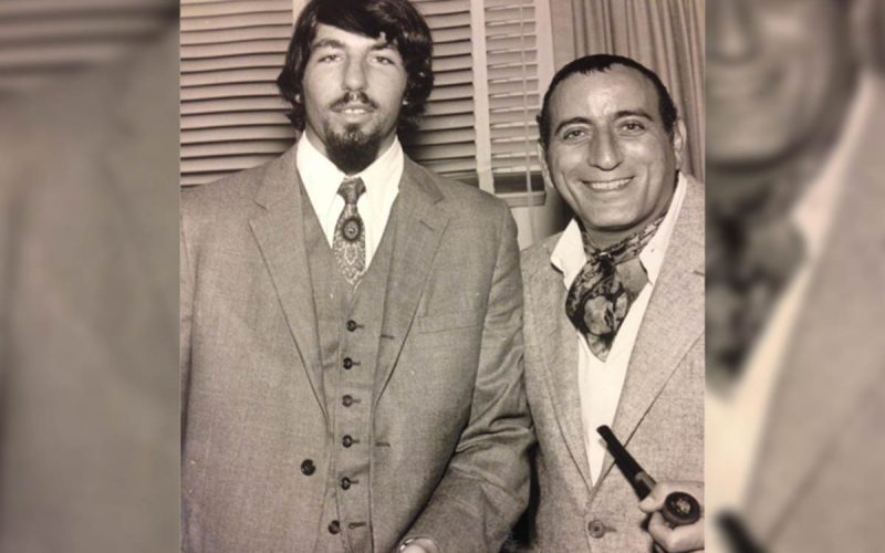 Paul Rappaport with Tony Bennett